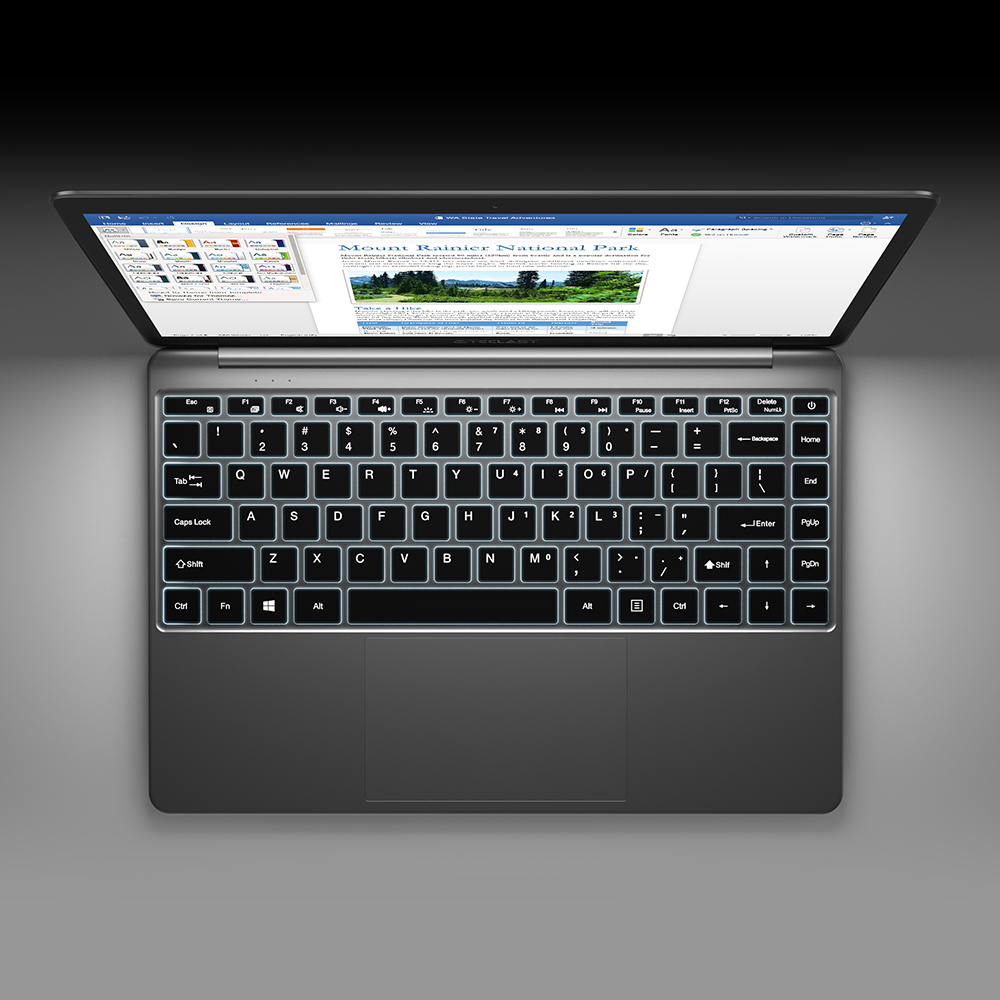 "Teclast F7 Plus 14,1 ""8 ГБ ОЗУ 256 ГБ SSD ноутбук FULL HD 1920x1080 Intel Gemini Lake N4100 Windows 10 клавиатура с подсветкой"