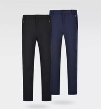 New Autumn Winter Comfortable Warm Soft Shell Pants Fleece Keep Warm Windproof and Waterproof Men Woman Slim Fit Trousers