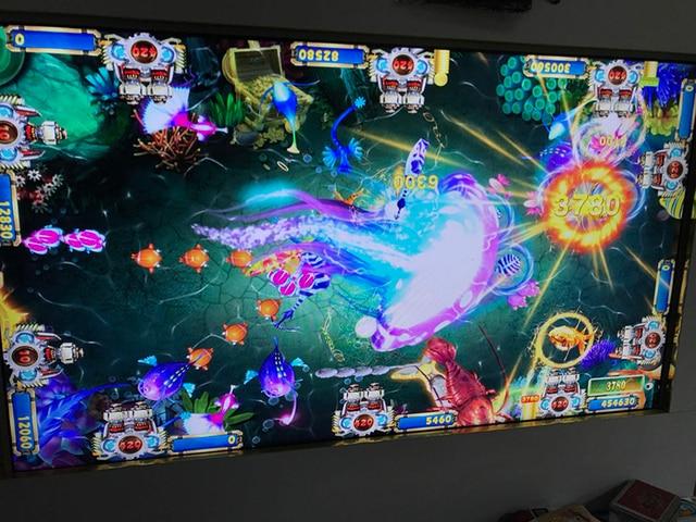 Phoenix II Realm Arcade Fishing Birds Shooting Ocean King Game Board Kit 4