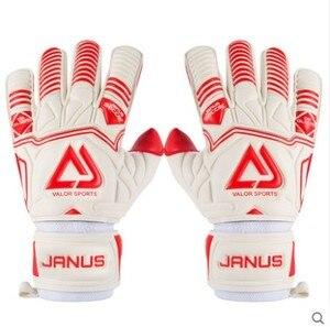 Image 4 - Professional Adult&Kids Football Goalkeeper Gloves Men Soccer Goalie Gloves CONTACT full latex finger detachable inner seam