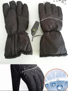 Heated-Gloves Ski Motorcycle Electric Winter Waterproof Warmer Battery-Powered Cycling