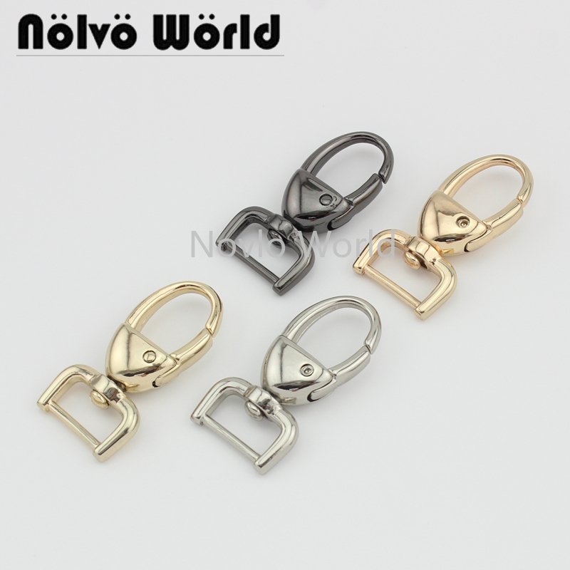 4 Pieces Test, 44*15.8mm, Small Quantity Bags Purse Accessories, Suitcase Handbag Strap Chain Swivel Clasps Hardware Accessories