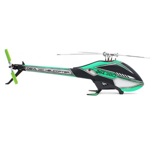 Image 5 - ALZRC   Devil 380  TBR KIT Helicopter 380 RC Helicopter  Silver   2019