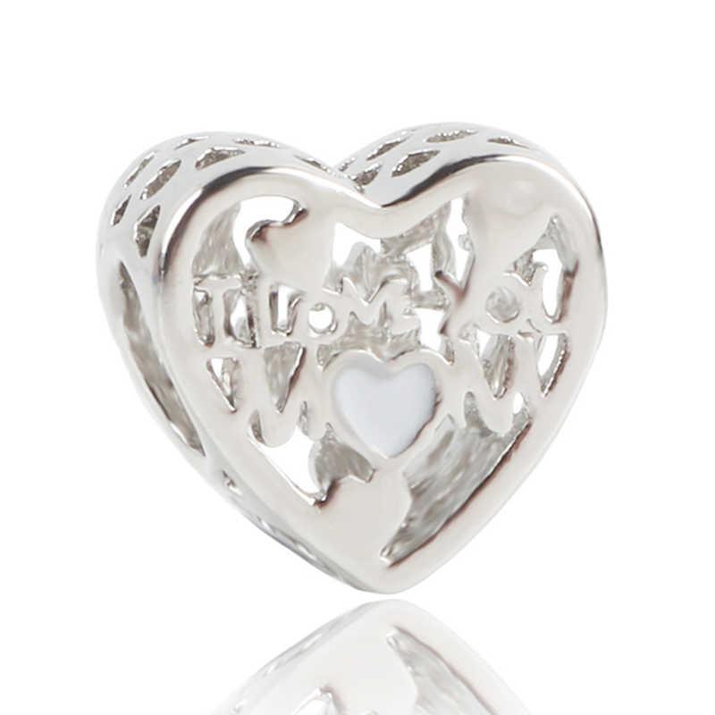 2020 nowe srebrne 925 różowe złoto różowe stokrotki kwiat Charm Fit bransoletka pandora rodzina urok szkło murano koraliki do biżuterii diy
