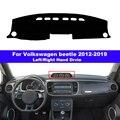 Крышка приборной панели автомобиля тире коврик ковер для VW Volkswagen beetle 2012-2019 LHD RHD Авто приборной 2013 2014 2015 2016 2017 2018