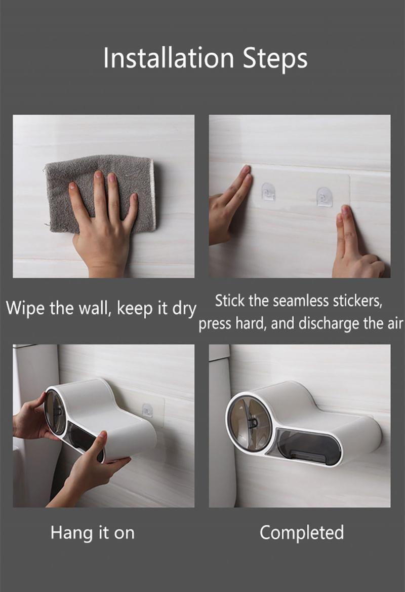 Suporte portátil p papel higiênico