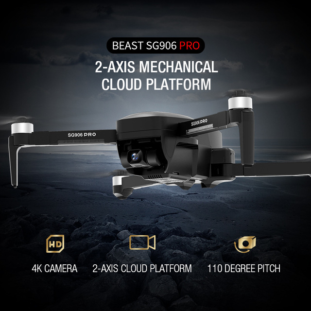 ZLRC SG906 Pro 5G WiFi FPV With GPS 4k Camera Drone profesional 2-axis Anti-shake Unmanned Aerial RC Quadcopter 4