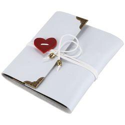 Винтаж из искусственной кожи 30 Бумага листов карты тема любви свадебные DIY ручной работы фото, Скрапбукинг альбом