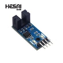 Модуль датчика скорости тахообразный датчик слот-тип оптрон тахогенератор счетчик модуль для arduino Diy Kit