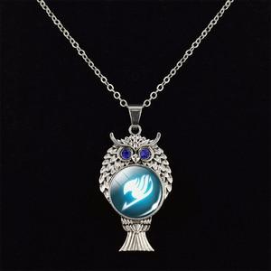 Черный кожаный браслет, браслет феи, браслет с хвостом, логотипом Guild, стеклянные кабошоны «Аниме», украшения в подарок для любителей аниме, Косплея