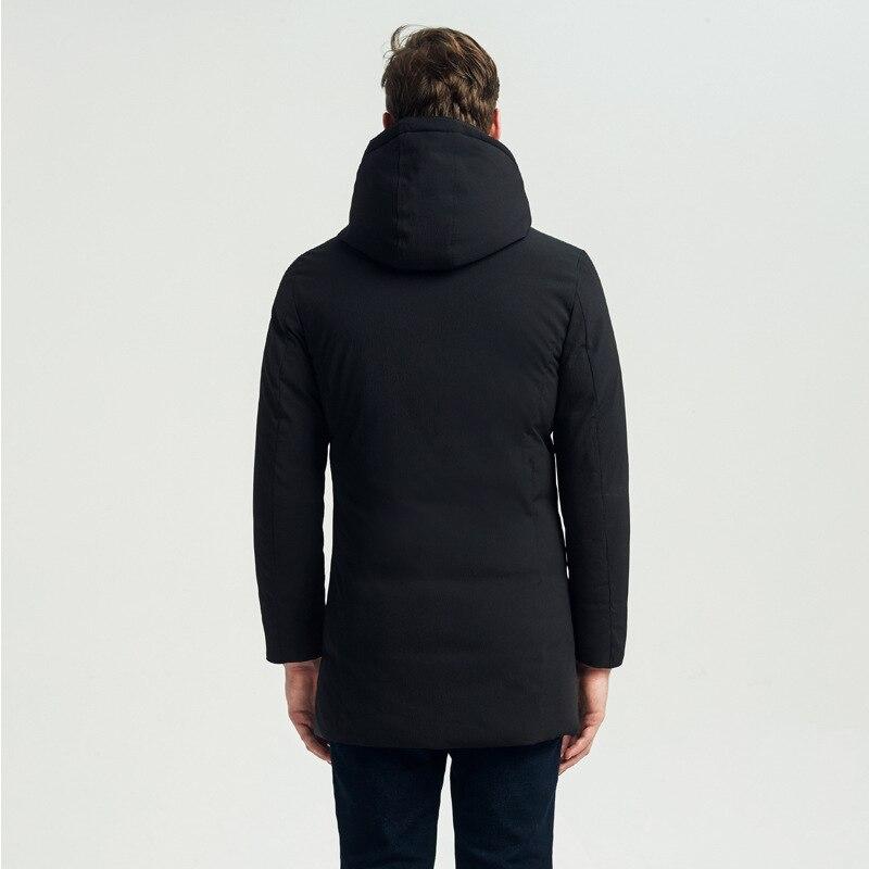 New Arrival Winter Wadded Jacket Parka Men Plus Size 4XL Warm Thick Black Padded Coat Male Hood Windbreaker LX2274