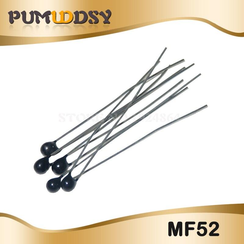 20pcs MF52AT MF52 B 3950 NTC Thermistor Thermal Resistor 5% 1K 2K 3K 4.7K 5K 10K 20K 47K 50K 100K