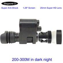 2021 새로운 Megaorei 3 뜨거운 적외선 야간 riflescope 슈퍼 안티 충격과 사냥 액세서리
