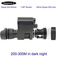2021 nowy Megaorei 3 gorące widzenie nocne z wykorzystaniem podczerwieni luneta akcesoria myśliwskie z super anti shock