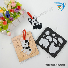 Puppy Pendant Wooden dies cutting  fit MY Scrabooking MY7231