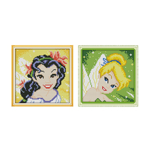 Joy Sunday Counted Cross Stitch Kits Spirit Cotton Thread Painting 11CT 14CT DIY Embroider Sets Home Decoration Patterns Kits joy sunday sweetnessand poetic counted cross stitch 11