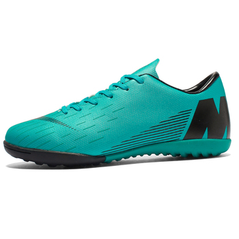 Soccer Shoes Men Football Cleats  Boots Teenager Ankle High Tops Kids Indoor Training Sneaker