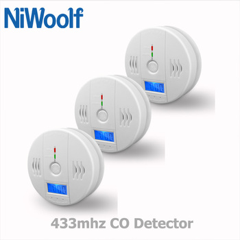 2020 nowy 433mhz wykrywacz tlenku węgla dla domu włamywacz bezpieczeństwa System alarmowy wi-fi GSM System alarmowy bezprzewodowy czujnik czadu tanie i dobre opinie NiWoolf CN (pochodzenie) CO-02 Detektory tlenku węgla White Wireless Carbon Monoxide Detector AAA1 5V x 3(Battery not include)