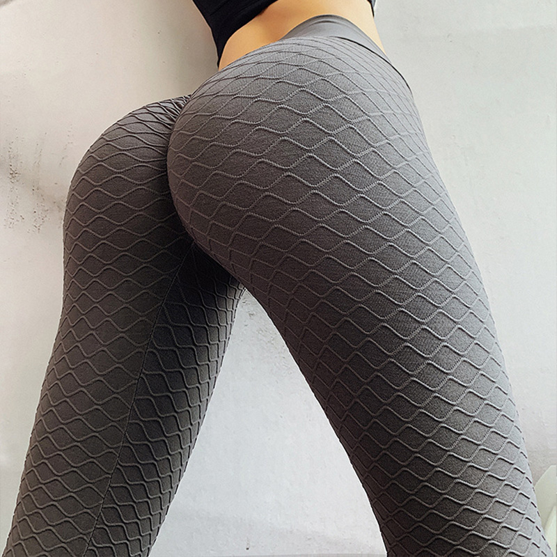Sports Leggings Femme Diamond Pattern Anti Cellulite Skinny Pants For Women Fitness Constrictive Butt Lift Long Trousers Mujer