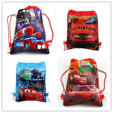 Computer-Bag Birthday-Gift Disney Boys And 20L Backpack Cars Travel Girls