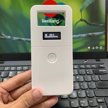 FDX-B Dier huisdier id reader chip transponder USB RFID handheld microchip scanner voor hond katten paard E65A