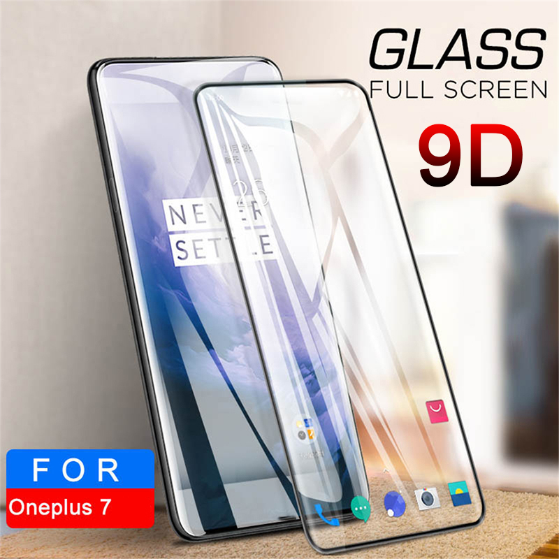 Tempered Glass Protective Glass For Oneplus 7 Pro 6 Screen Protector For Oneplus 6T 5 5T 3T 3 9D
