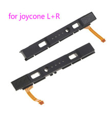 원래 LR 슬라이드 NS Joycon 컨트롤러 철도 수리 용 Nintend 스위치 콘솔 용 오른쪽 슬라이더 레일