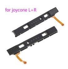 Оригинальный слайдер LR Левый Правый слайдер рельс для консоли переключателя Nintendo для контроллера NS Joycon железной дороги б/у ремонт