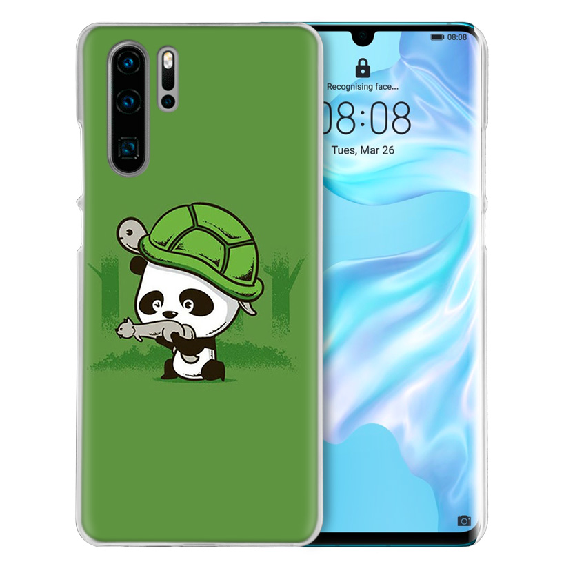 Image 3 - Case Cover For Huawei Honor P20 Mate 20 10 P10 P9 P8 8X 9 Lite P Smart + Plus 2017 2019 Nova 3i Clear Cute Animal Panda Fundas-in Half-wrapped Cases from Cellphones & Telecommunications