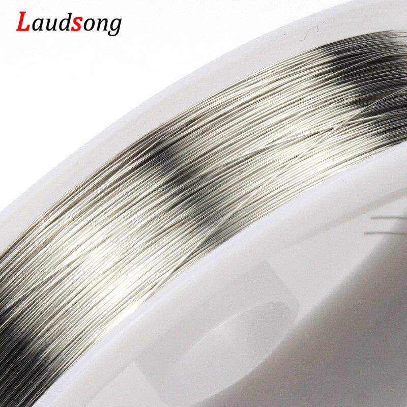 0.2/0.3/0.4/0.5/0.6/0.8/1mm gül altın bakır tel boncuk tel DIY takı yapımı kordon dize aksesuarları bulguları