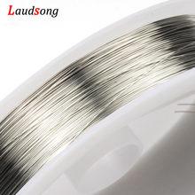 Fil à perles en cuivre or Rose/0.2/0.3/0.4/0.5/1mm, 0.6/0.8/bijoux à bricoler soi-même/1mm, cordon de fabrication, accessoires