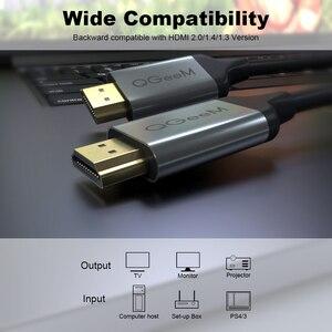 Image 5 - QGeeM 8K HDMI كابل متوافق HDMI 2.1 سلك ل Xiaomi Xbox Serries X PS5 PS4 أجهزة الكمبيوتر المحمولة 120Hz HDMI الفاصل الرقمية كابل الحبل 4K