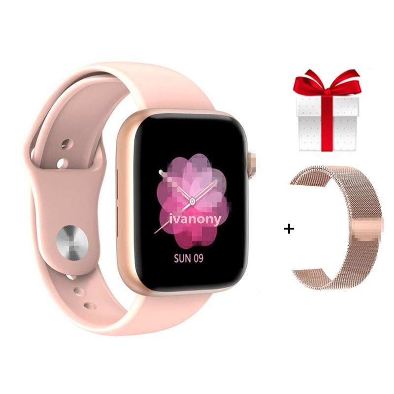 W75 IWO 13 IWO13 Smartwatch Watch 5 40mm/44mm ECG Oxygen Blood Pressure Whatsapp Message Reminder Smart Watch Men Women VS W58