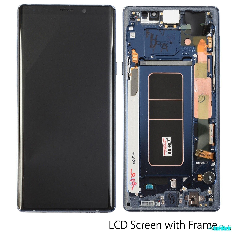Super Amoled pour Samsung Galaxy Note 9 N960 N960F N960D N960DS défaut écran Lcd écran tactile numériseur assemblée 6.3