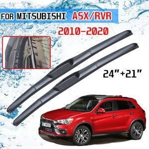 Para Mitsubishi ASX 2011 2012 2013 2014 2015 2016 2017 2018 2018 2020 Acessórios Dianteira RVR Limpador Escovas para Carro U J Gancho