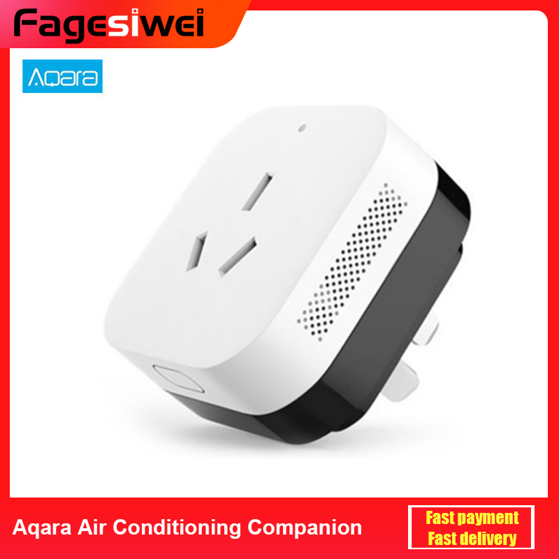 Aqara Air Conditioning Companion With Temperature Humidity Sensor Gateway Edition Work With Mi Home App Remote Controller
