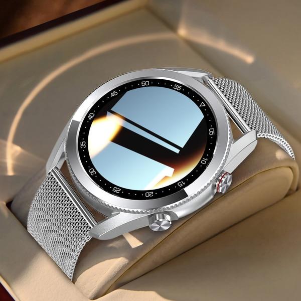 Новый L19 Смарт часы вызовов через Bluetooth, мужские спортивные часы, IP68 Водонепроницаемый ЭКГ сердечного ритма крови Давление сенсорный Экран С...