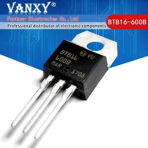 Image 1 - 10PCS BTB16 600B TO 220 BTB16 600 TO220 BTB16 16 600B