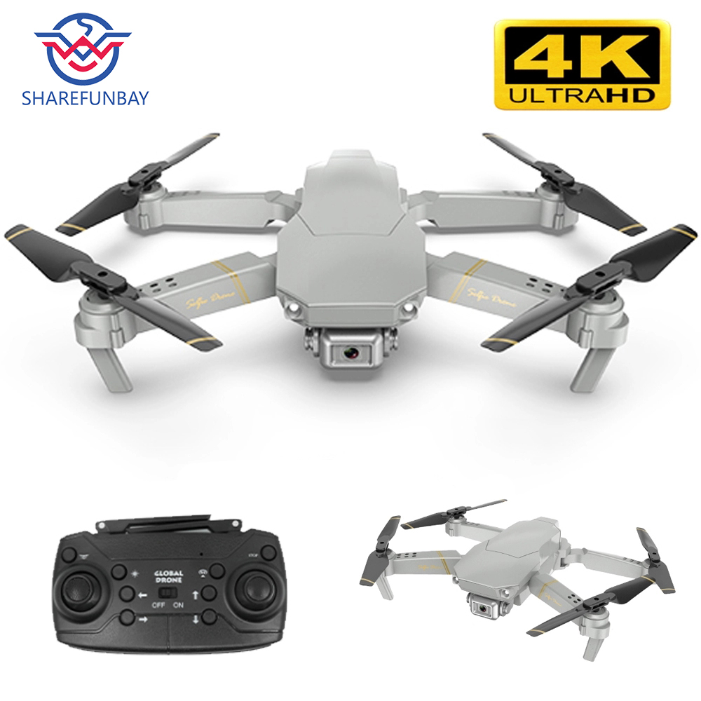 Global drone EXA Dron with camera HD1080P WiFi FPV 4K RC helicopter VS E58 E520 quadcopter