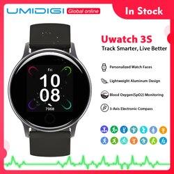 UMIDIGI Uwatch 3S Smart Watch Men Women 5ATM Waterproof For Android IOS Clock Heart Rate Sleep Monitoring Smartwatch