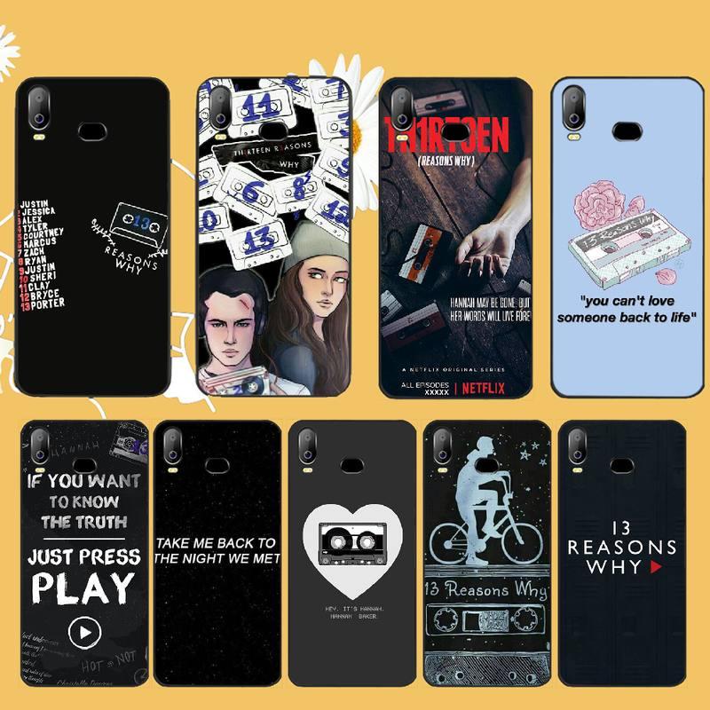 13 Reasons Why Netflix Custom Photo Soft Phone Case For Samsung A10 A20 A30 A40 A50 A70 A71 A51 A6 A8 2018