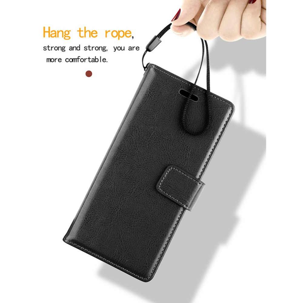 Держатель для карт чехол телефона из искусственной кожи с откидной крышкой