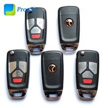 Xhorse مفتاح تحكم عن بعد عالمي VVDI 4 أزرار لأودي من النوع 2 ، مفتاح VVDI