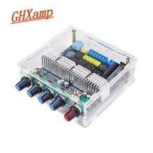 GHXAMP TPA3116 5.0 amplificatore Bluetooth 2.1 Amplificatori Bordo 50W + 50W + 100W Woofer Altoparlante FAI DA TE 12 24V Ad Alta Potenza Con Il Caso