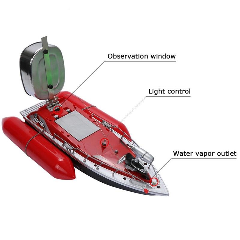 Novo mini rc isca de pesca barco