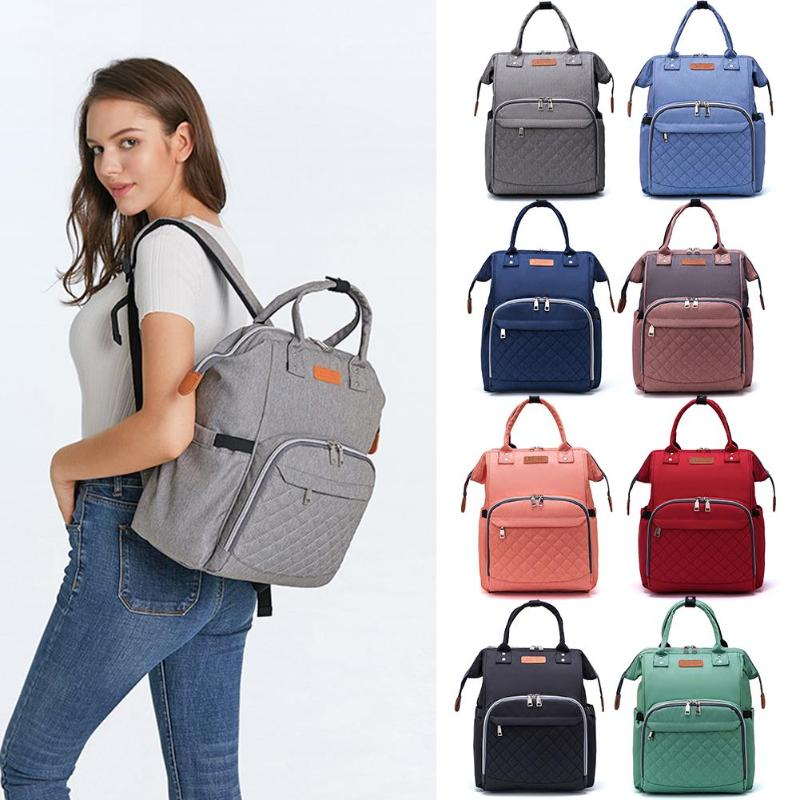 Baby Care Diaper Bag Outdoor Travel Maternity Nursing Backpack Mummy Bag Side Paper Pocket More Hygienic And Convenient
