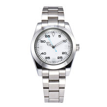 Automatic Watch 39 Mm Laki-laki Automatic Kaca Safir Perak Case 316L Stainless Steel Biru Panggil A1016(China)
