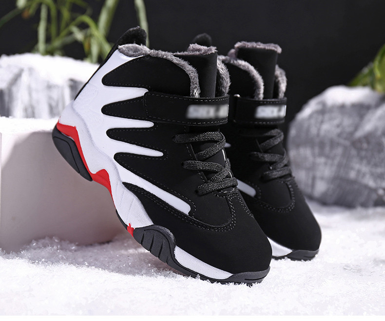 PINSEN 2019 Winter Boys Shoes Kids Sneakers Boy Sport Shoes Child Casual Warm Basketball Children Shoes Girls chaussure enfant (20)