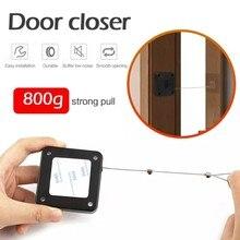 Sensor automático de puerta sin perforación, más cerca, apto para todas las puertas, 800g de tensión, cierre de puerta