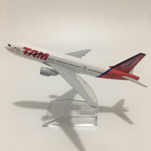 JASON TUTU 16cm TAM Boeing b777 uçak Model uçak modeli brezilya GOL Boeing 737 uçak modeli Diecast Metal 1:400 ölçekli uçaklar